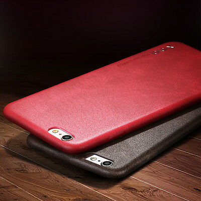X-Level HandMade ultra-thin Leather Hard Back Case Cover For Apple iPhone Models