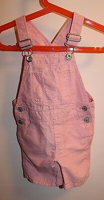 Baby GAP overall shorts for toddler girls size 12-18 Month