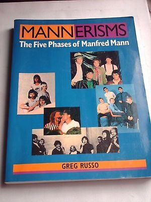 Mannerisms The Five Phases Of Manfred Mann By Greg Russo 1995 Mods
