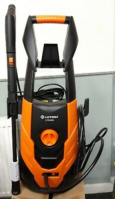 1800W Pressure Washer 110-120 Bar, 240v Small compact on Wheels 1600 PSI