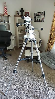 Gskyer equatorial mount and tripod with 4.1 lb counterweight excellent condition