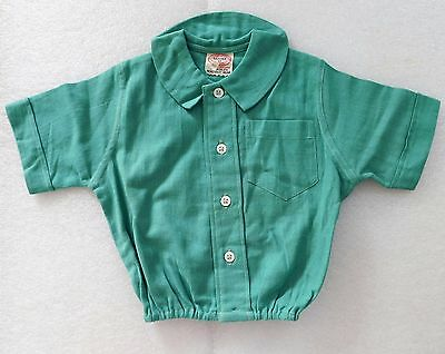 Vintage baby clothes Aertex childs top shirt Cellular Clothing Company 1930s