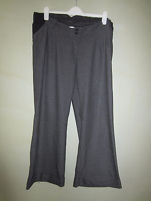 Mamas and Papas maternity trousers, underbump size 10S.