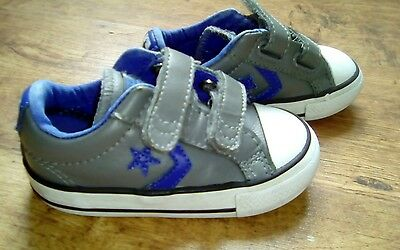 Converse All Star infant plimsolls UK 5