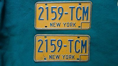 New York State License Plates