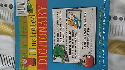 childs illustrated dictionary