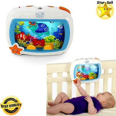 Baby Crib Toys Einstein Sea Dreams Soother Nursery Decor Infant Night Light Gift