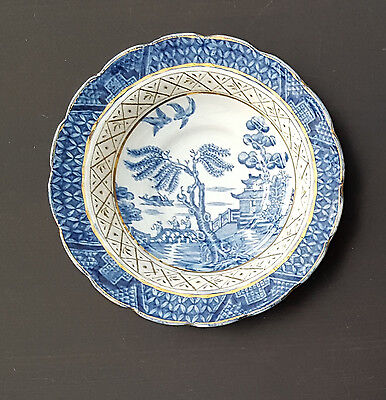Booths Real Old Willow Saucer x 1 - good condition