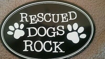 Oval Shaped Pet Magnets: Rescued Dogs Rock Cars, Trucks