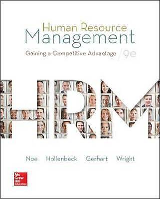 Human Resource Management, Noe, Raymond Andrew