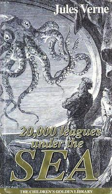 20,000 Leagues Under The Sea, Jules Verne   Hardcover Book   Acceptable  