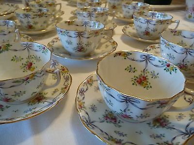 G & W Sons, Queens China, 6 place Tea Set