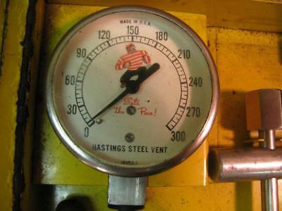 Vintage Hastings Universal Compression Tester Kit Set Gauge