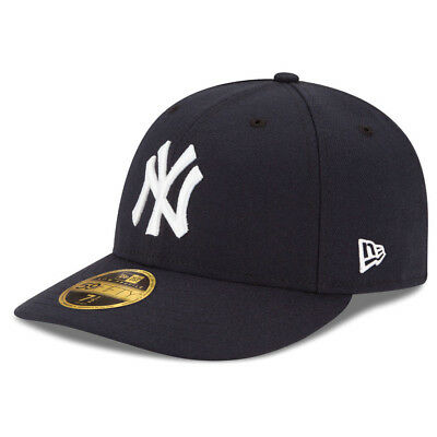 New Era 5950 New York Yankees GAME Low Profile Fitted Hat (DKNV) MLB Cap