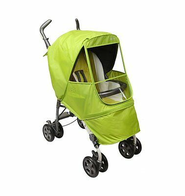Elegance Alpha Stroller Weather Shield / Rain Cover [Manito USA] Green