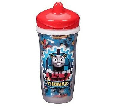 Playtex Sipsters Red Thomas & Friends Stage 3 Insulated Spout 9oz Sippy Cup