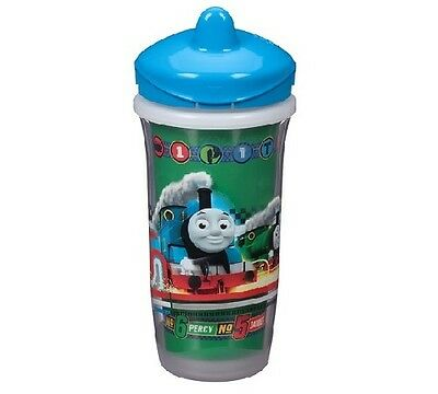 Playtex Sipsters Blue Thomas & Friends Stage 3 Insulated Spout 9oz Sippy Cup