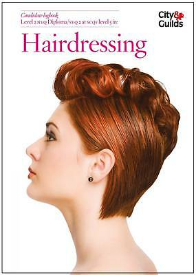 NVQ/SVQ in Hairdressing Candidate Logbook: Level 2, Good Condition Book, Atkinso