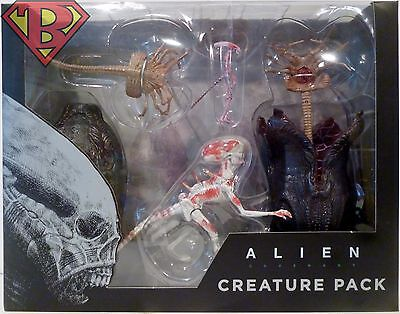 "CREATURE PACK Alien Covenant 7"" inch Scale Movie Accessory Pack Neca 2017"