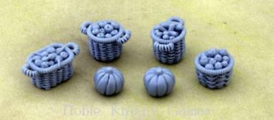 Hexy Mini Monsters Terrain 28mm Baskets and Pumpkins Pack MINT