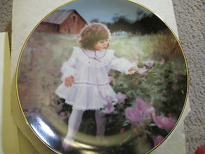 """""""Ribbons and Roses"""" by Donald Zolan, 10-yr Commemorative Collectible Plate"""