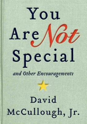 You Are Not Special, McCullough, David