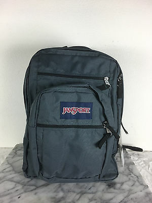 JanSport big student backpack Forge Grey School bag bags 100% authentic