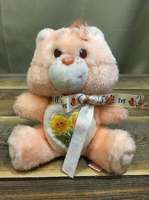 "Vintage Care Bears 7"" Friend Bear Complete With Tag Adult Collector No Box"