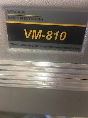 Vivax Metrotech VM-810 Carrying Case Super Nice Has A Manual And Usb Cords In It