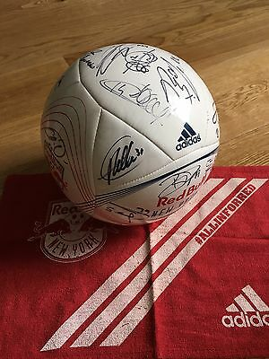 New York Red Bulls Thierry Henry Signed Soccer Ball Authentic