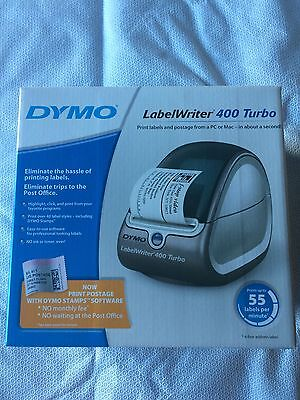 Dymo LabelWriter 400 Turbo Thermal Printer For MAC or PC New in Box 69110