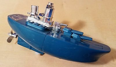 Wind Up Boat Toy Select Toys Vintage Very Nice