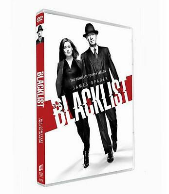 The Blacklist Season 4 (DVD, 2017, 5-Disc Set) Brand New Sealed Free shipping