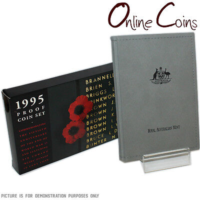 1995 RAM Australian Six Coin Proof Year Set - 50th Anniversary End of WWII