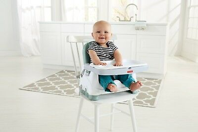 Fisher Price Baby/Infant Booster Seat,Portable Toddler Feeding High Chair Travel