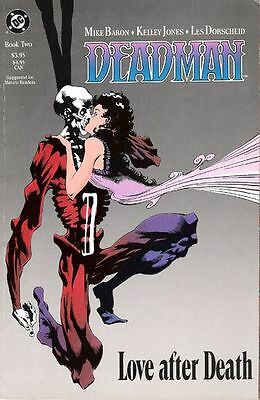 "Comic DC ""Deadman: Love After Death #2"" 1990 NM"