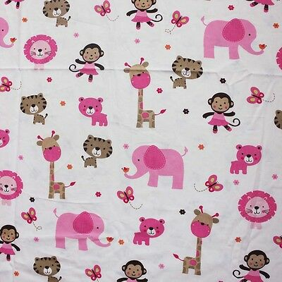 Baby Cot Fitted Crib Sheet 130x70cm 100% Cotton