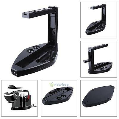 Game Controller Charger Charging Dock Stand Holder for Sony Playstation 4 PS4 VR