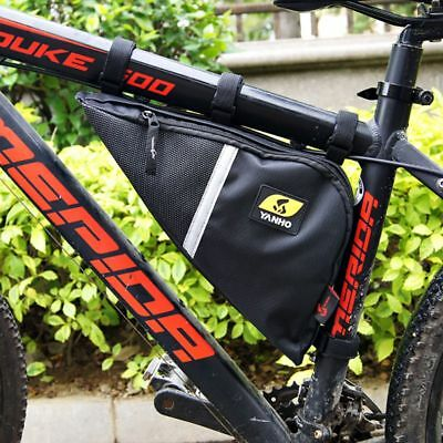 UK Big Triangle Frame Bag Bicycle Cycle Bike - 5 Litres Capacity