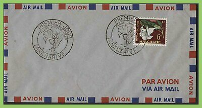 Madagascar 1959 6fr Flower on airmail First Day Cover