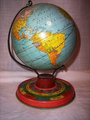 Vintage Zodiac Mini Globe with Seasons