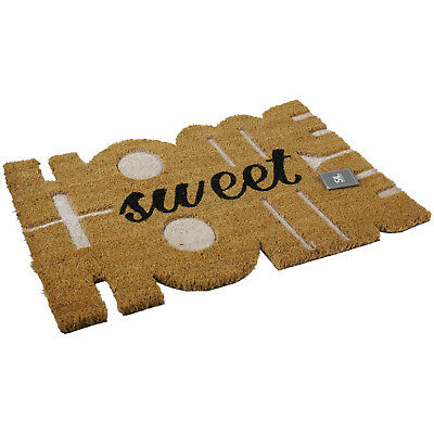 Home Sweet Home Design Non Slip Backing Heavy Duty Absorbent Floor Mat Doormat