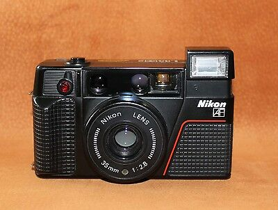 Vintage 35mm Nikon L35AF2 camera fully working in immaculate condition
