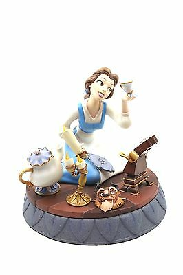 Markrita Disney Belle Figurine Beauty and the Beast 10th Anniversary with COA
