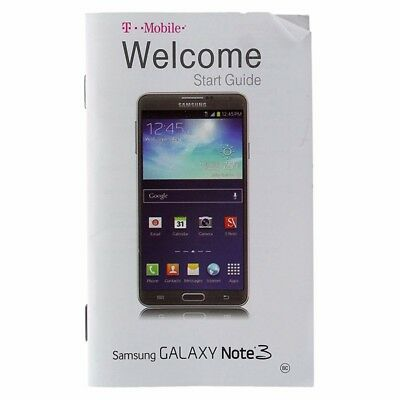 T-Mobile Samsung Galaxy Note 3 Manual / Consumer Info / Product Safety Info