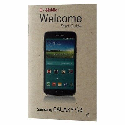 T-Mobile Samsung Galaxy S5 Starter Manual / Consumer Info / Product Safety Info