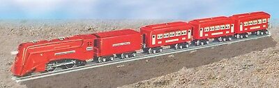 Lionel 6-51014 #291W The Red Comet Set Locomotive 264E & Passenger Cars MIB **