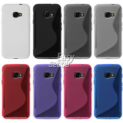 For Samsung Galaxy Xcover 4 G390F Case Gel Soft S-Line TPU Silicone Cover Skin