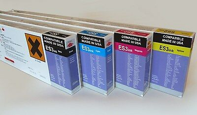 Mimaki ES3 Compatible 440ml EcoSolvent Ink Cartridge for JV33 / CJV Printers