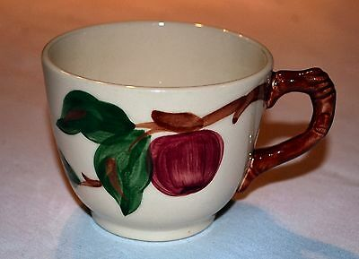 Franciscan Ware Cup, Red Apple Design, Made In The Usa
